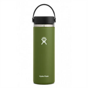 Hydro Flask 20oz Wide Mouth Bottle Olive