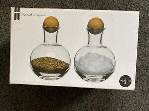 Sagaform Salt And Pepper Glass Containets