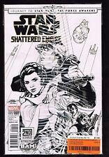 Star Wars Shattered Empire #1 Variant ~ Bam sketch Variant ~ (9.4OB) WH