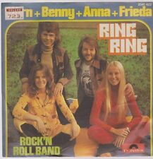 "7"" ABBA Björn + Benny + Anna + Frieda Ring Ring / Rock`n Roll Band 70`s Polydor"