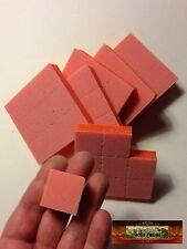 M00961x6 MOREZMORE 54 Mini Buffing Sponge Block Abrasive Clay Polish Sanding