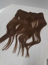 "16"" 80g Sunny Invisible Halo Wire Virgin 100% Human Hair Extension Med Brown #6"
