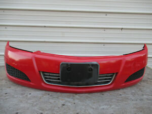 2008-2009 SATURN ASTRA FRONT BUMPER COVER OEM