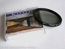 Kood 58mm Súper Fino Soporte Filtro Polarizador Circular C-PL PLC CPL