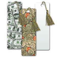 Bookmark Coins Dollars USA Currency Book Mark Lenticular Flip #BM20X65-952#
