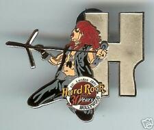 "Hard Rock Cafe 30 Ann. Letter "" H "" Musician Pin. Rare"