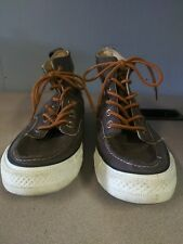 Brown Leather Converse Chuck Taylor All Star High Top 125651c Mens: 7 Womens: 9