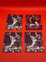 Luka Doncic NBA Panini 4 Card Lot!! (Luminance+Crusade) MINT!!