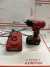 """Snap On 3/8"""" Drive 18v Cordless Impact Wrench w Battery / Charger CT4418"""