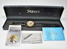 NIB Stauer Magnificat II Man Dress 27J Automatic Day Date Sun/Moon Phase Watch