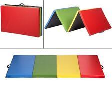 "4'x10'x2""Thick Folding Panel Gymnastics Mat Fitness Gym Exercise Mat GM10"