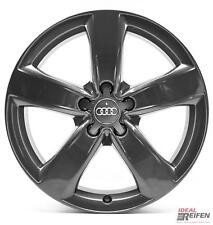 4 Audi A4 8E 8H B7 B6 18 Zoll Alufelgen Original Audi Felgen 4GM grau glänzend