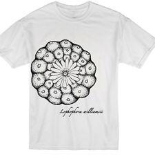Peyote Cactus White T Shirt, S-XL—Lophophora botanical original nature t shirt