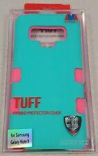 Samsung Galaxy Note9 Aqua/Pink TUFF Hybrid Protector Cover - #16G