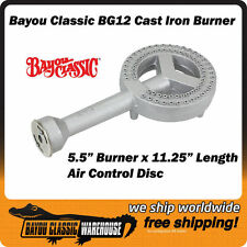 "High Pressure Cast Iron 5.5"" Burner for LP Propane Gas Cookers Up to 50K BTU"