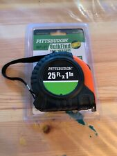PITTSBURGH QUIKFIND TAPE MEASURE 25 FT X 1 INCH
