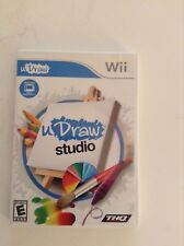 Nintendo Wii uDraw Studio Video Game Color Drawing