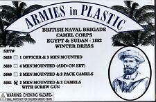Armies in Plastic Egypt & Sudan British Naval Camel Corps Winter w/Screw Gun #4