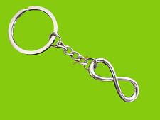 PORTE CLES CHAINE AMOUR BOUCLE INFINI REVENGE SAINT VALENTIN COUPLE keychain