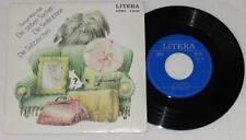 """SAMUIL MARSCHAK Die Sieben Sachen Die Seifenblase 7"""" Vinyl 1974 LITERA Kinder"""