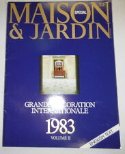 Maison & Jardin French Magazine Decoration Cover #2 English Text 1983 101414R1