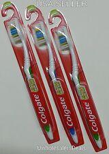 3 Colgate Toothbrush Extra Clean Full Head MEDIUM  #97 Brushes NEW