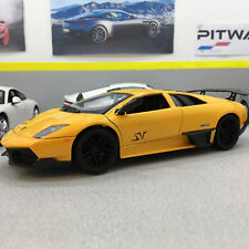 Lamborghini Murcielago LP 670-4 SV Yellow Die-cast Model Car Collectable 1:24