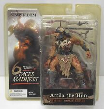 ATTILA THE HUN Mcfarlane Toys 6 Six faces of Madness Action Figure 2004 NIP