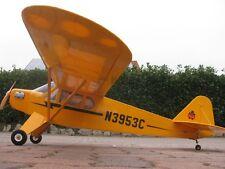 RC 1720 mm Balsa 1:8 PIPER J3 SUPER CUB CUP GROßMODELL Flugmodell Flugzeug ARF