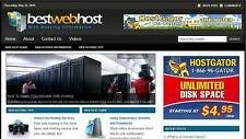 Web Host  Niche Blog In-Demand Turnkey Affiliate Free Installation+Hosting