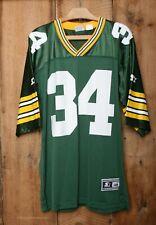 Vintage STARTER Green Bay Packers Edgar Bennett #34 Football Jersey Sz. 48