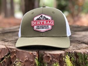 "Patagonia ""DIRTBAG"" Mid Crown Trucker Hat - Spring 2017 NWT"
