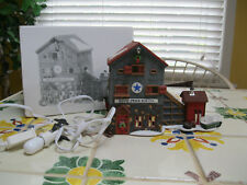 Department 56 New England Village Blue Star Ice Company and Ice Harvesters