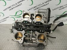HONDA VFR1200 VFR1200F SC63 2011 THROTTLE BODY COMPLETE, AUTO DUAL CLUTCH BK266