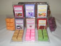 SPA & CLEAN Scented Wax Melts Fragrance Tarts Aroma Cubes Handmade