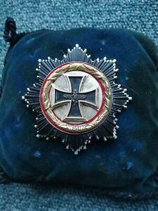 57er Orden, Deutsches  Kreuz in Gold, sehr frühe schwere Ausführung