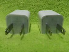 Lot of 2 USB Wall Charger for iPhone 5,6s/Plus/5/SC Genuine - Authentic