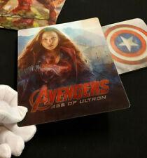 AVENGERS AGE OF ULTRON Multi Image 3D Lenticular Flip Magnet Cover FOR steelbook