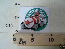 STICKER,DECAL KROON OIL  MOTOROLIE CAR