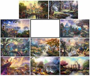 Thomas Kinkade 1 Disney print CHOOSE OUT OF 10 PRINTS!