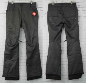 New 2018 686 Womens Authentic Patron Insulated Snowboard Pants Small Charcoal