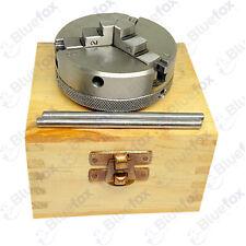 65 Mm 3 Jaw Mini Lathe Chuck Self Centering M14x1 Threaded Wooden Box