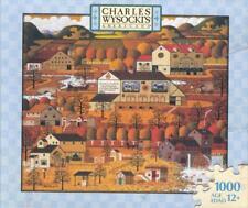Charles Wysocki 2005 Hasbro Jigsaw Puzzle Amish Autumn