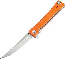 Artisan Waistline Linerlock Knife Orange 1805P-OEF