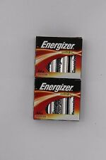 8 Energizer Max Alkaline Batteries AA cell Made in USA  2023 2 x 4 retail box