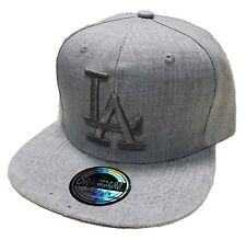 LOS ANGELES LA SNAPBACK CAP KAPPE BASECAP MÜTZE HIP HOP TRUCKER STYLE CAPPY GRAU