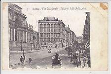 AK Roma, Via Nazionale, Palazzo delle Belle Arti 1905