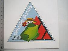 Aufkleber Sticker WDR - Aktuelle Stunde - Radio Fernsehen (M1526)