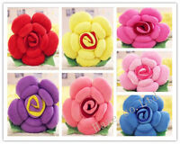 Rose Flower Shape Bed Sofa Chair Throw Cushion Lumbar Pillow Lover Gift