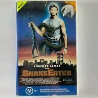 Snake Eater VHS Rare vintage action movie